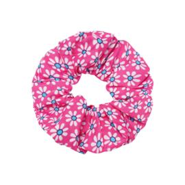 Scrunchie ''happyflower'' pink