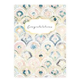 Kaart ''congratulations''