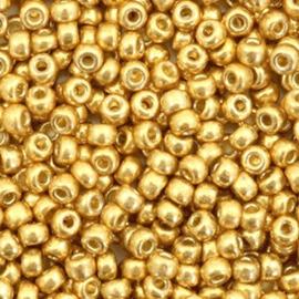 Miyuki 3mm, duracoat gold