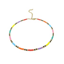 Beads necklace ''multicolor''