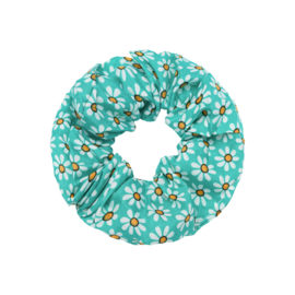 Scrunchie ''happyflower'' green