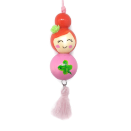 """Gelukspoppetje ''lucky"""" pink"""