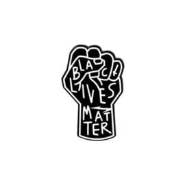 Pin ''black lives matter''