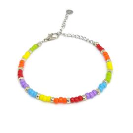Little beads armbandje ''pandora collection'' 3, handmade