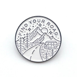 Pin ''find your road''