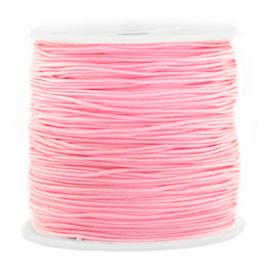 Macramé draad 0,8mm ''light pink'' 1 meter