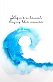 Mini kaartje ''waves''