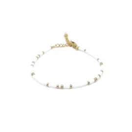 Armband ''miyuki'' 2mm white