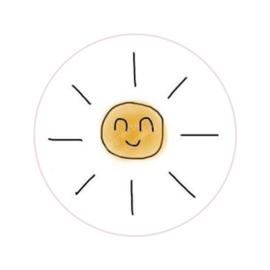 Stickers ''the happymakers'' 8 stuks