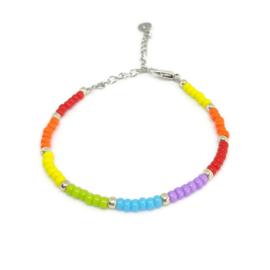 Little beads armbandje ''pandora collection'' 5, handmade