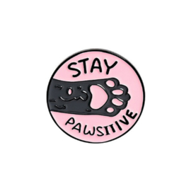 Pin ''stay pawsitive''
