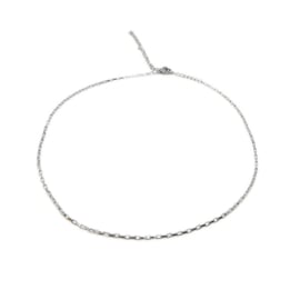 Ketting ''minimalistic chain'' stainless steel, silver