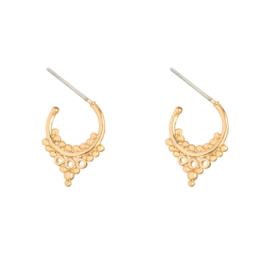 Earrings ''little bohemian'' gold