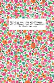 Mini kaartje ''wildflowers''