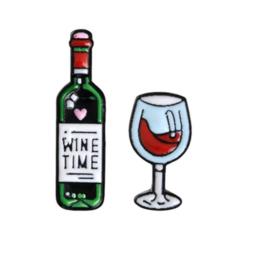 Pin ''wine time''