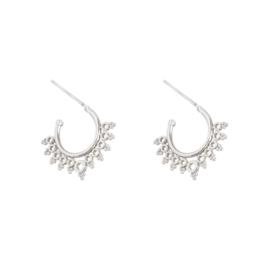 Earrings ''little bohemian'' silver