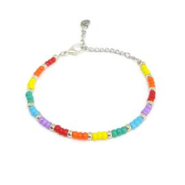 Little beads armbandje ''pandora collection'' 6, handmade