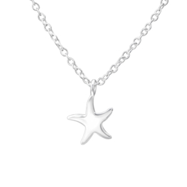 Ketting ''sea star'' 925 silver