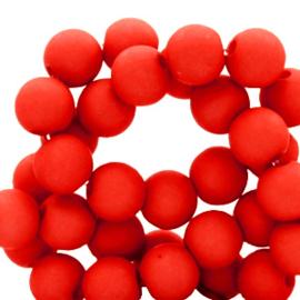 Acryl kralen 4mm, red
