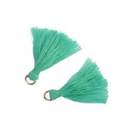 Flosjes 3,5cm ''green'' 10 stuks