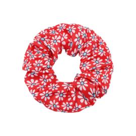 Scrunchie ''happyflower'' red