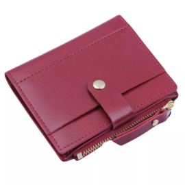 Little wallet, wine red