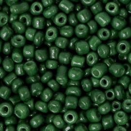 Rocailles 3mm, fir green