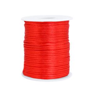 Satijndraad 1,5mm ''red'' 1 meter