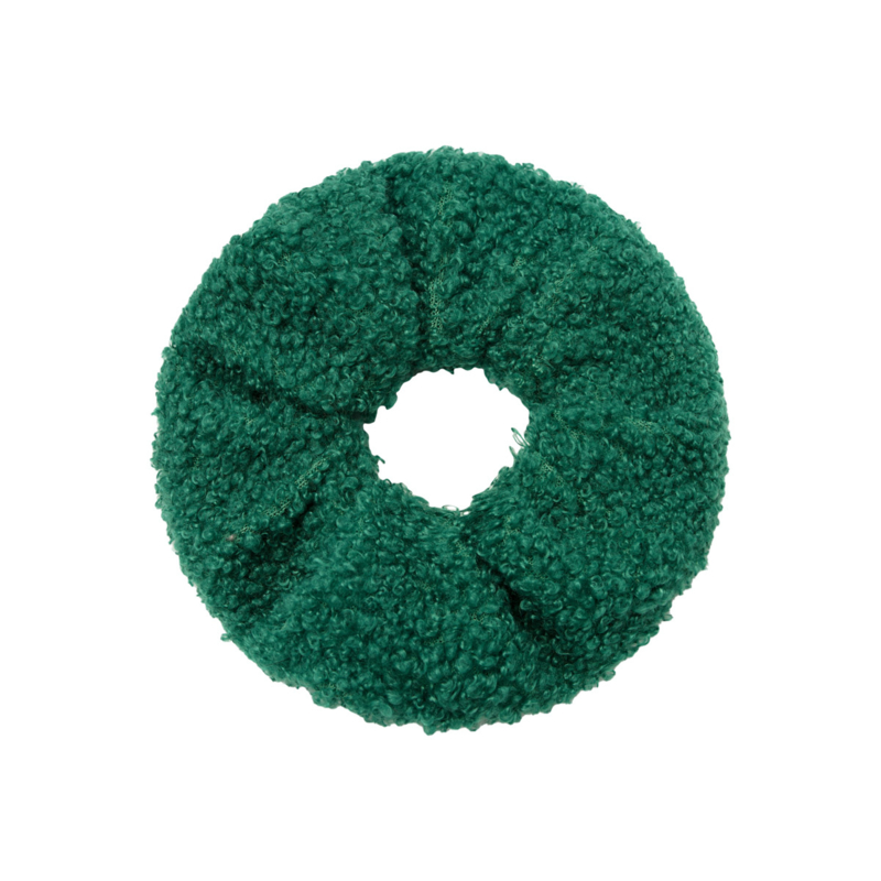 Scrunchie ''teddy'' green
