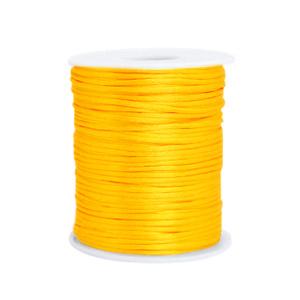 Satijndraad 1,5mm ''yellow'' 1 meter