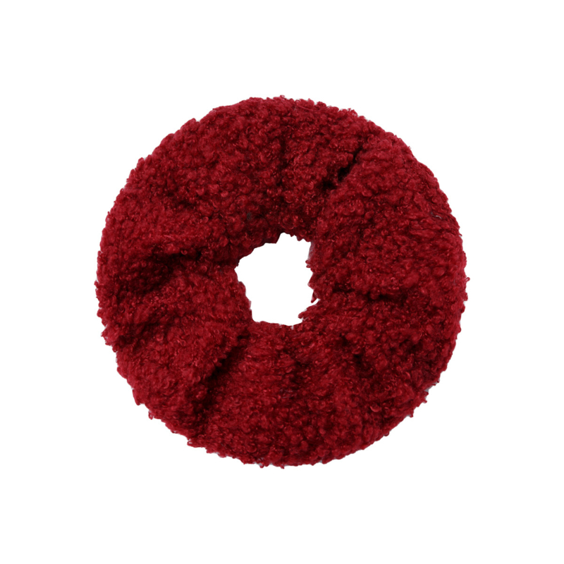 Scrunchie ''teddy'' red