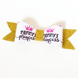 Haarclip small mommy's princess