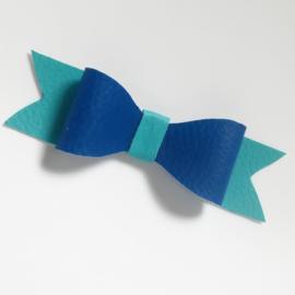 Haarclip small - blauw