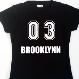 T-shirt/Longsleeve  eigen naam