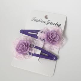 Haarspeldjes set - rozen