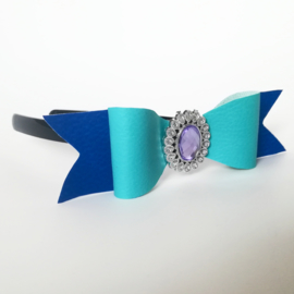 Diadeem - blauw/paars