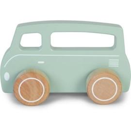 Auto - Bus - Blauw - Little Dutch