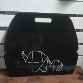 Cadeauverpakking - geometric olifant