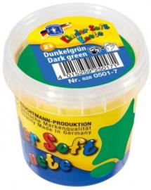 Feuchtmann Kinder Soft Knete Basic Klei 150 gram Donker Groen