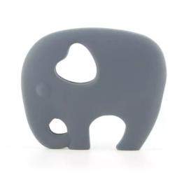 Bijtring siliconen olifant
