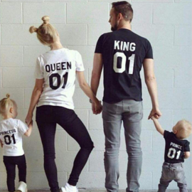 T-shirt/Longsleeve  twinnen -eigen tekst-