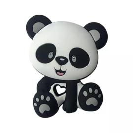 Bijtring siliconen pandabeer
