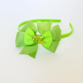Diadeem - groen