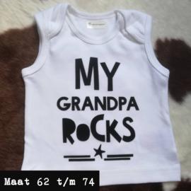Wit singlet - grandpa