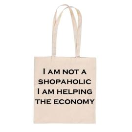 Canvastas I am not shopaholic