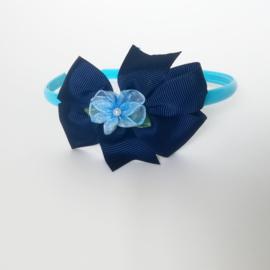 Diadeem - blauw