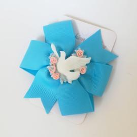 Haarspeld - blauw