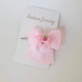Haarspeld - roze