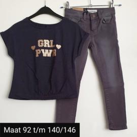 2-delig kledingset girl power