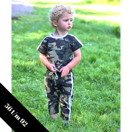 2-delig setje camouflage